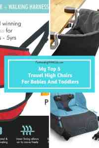 My Top 5 Travel High Chairs For Babies and Toddlers - Fun ...