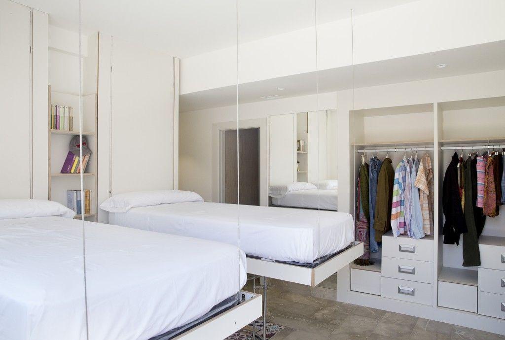 Habitacin doble residencia de estudiantes Madrid