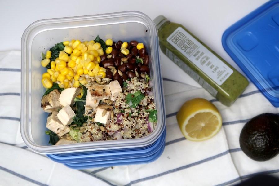 Easy Meal Prep Recipe: Southwestern Quinoa Chicken Bowls