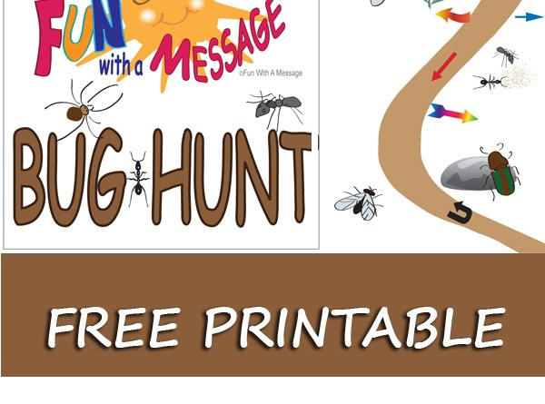 Fun With A Message BUG HUNT Free Printable