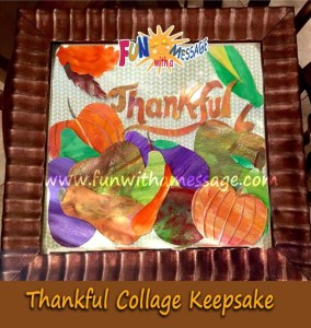 Thanksgiving Collage Tutorial