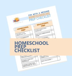 Homeschool checklist