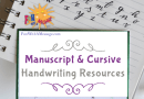 MANUSCRIPT & CURSIVE HANDWRITING