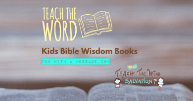 TEACH THE WORD KIDS BIBLE WISDOM