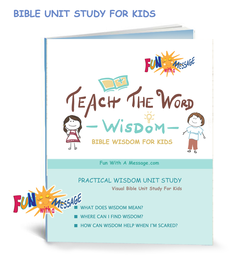 TEACH THE WORD BIBLE CURRICULUM WISDOM