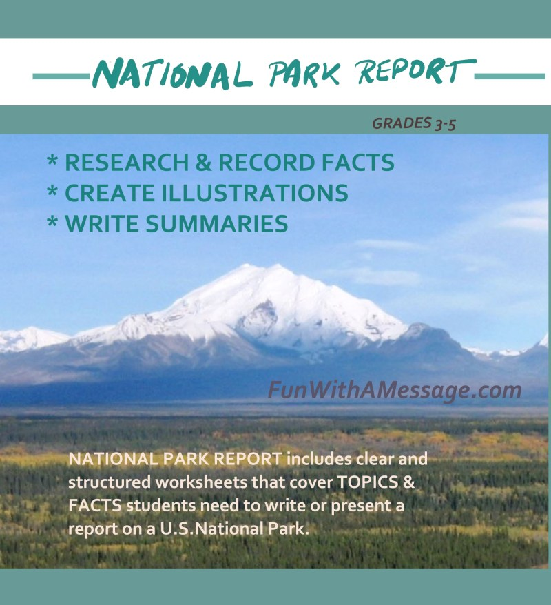 NATIONAL PARKS REPORT
