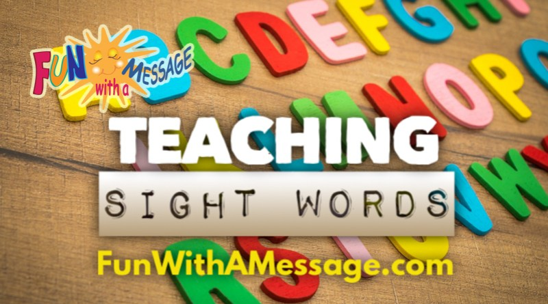 teaching sight words
