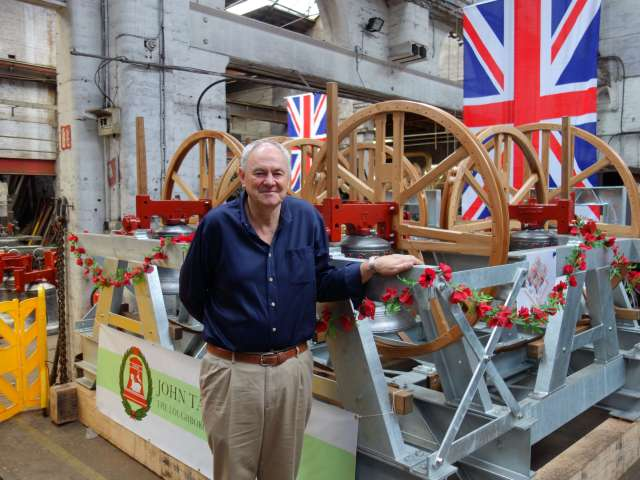 Prolific peal ringer and the inspiration behind the Ringing Remembers campaign: Alan Regin MBE