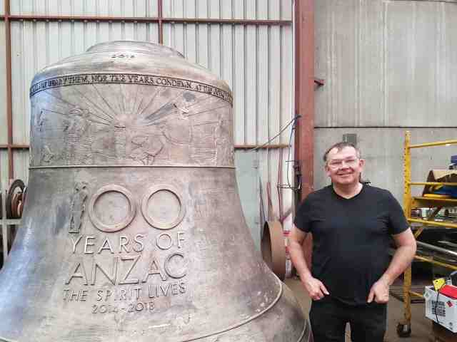 After 40 years at the Whitechapel bell foundry : Nigel Taylor