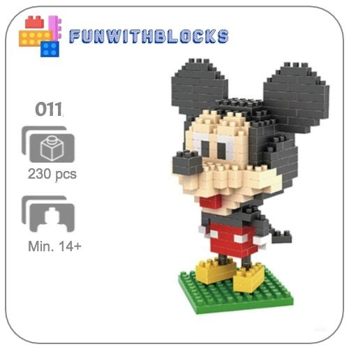 Miniblock Mickey Mouse