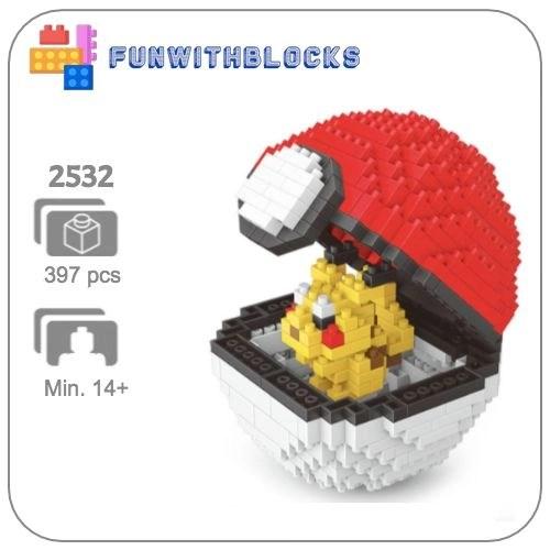 Miniblock Pokémon Pokeball Pikachu