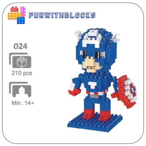 Miniblock Marvel Captain America
