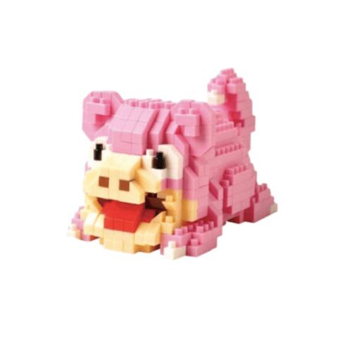 LNO Slowpoke miniblock - Pokémon - 392 mini blocks