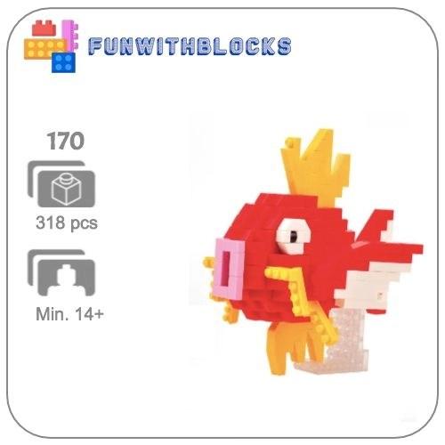 Miniblock Pokémon Magikarp