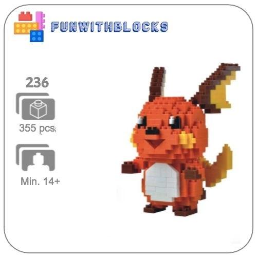Miniblock Pokémon Raichu