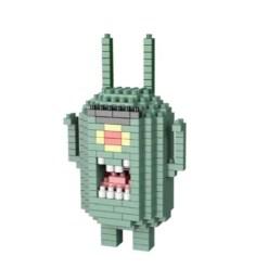 Miniblock Spongebob's Sheldon Plankton