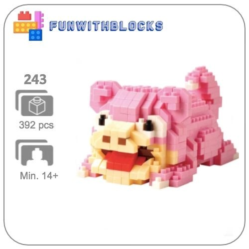 Miniblock Pokémon Slowpoke