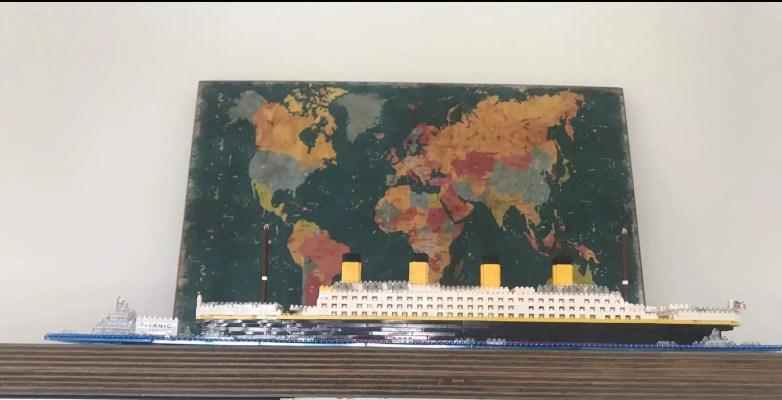 Miniblock Titanic