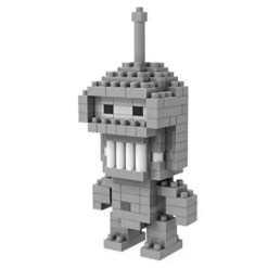 Miniblock Futurama Bender - 150 minibricks