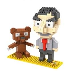 Miniblock Mr. Bean - 340 minibricks