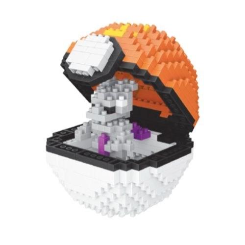Wise Hawk Pokeball Mewtwo miniblock - Pokémon - 442 mini blocks