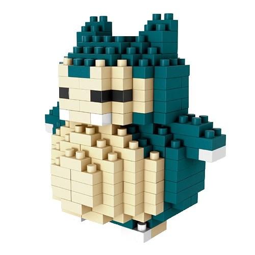 LNO Snorlax miniblock - Pokémon - 221 mini blocks
