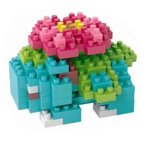 LNO Venusaur miniblock - Pokémon - 127 mini blocks