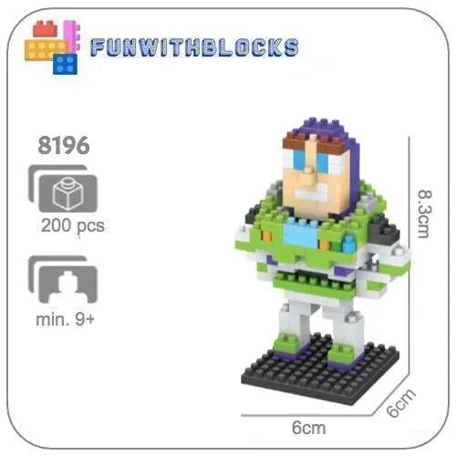 Buzz Lightyear - 200 miniblocks