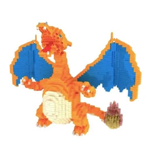 Mepin mega Charizard miniblock - Pokémon - 2080 mini blocks