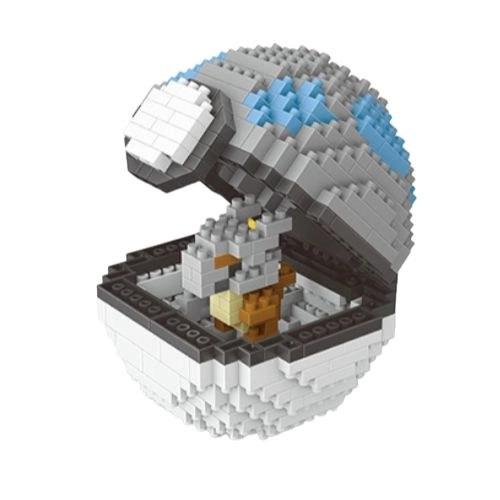 Wise Hawk Pokeball Cubone miniblock - Pokémon - 413 mini blocks