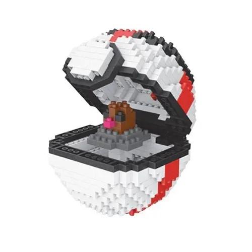 Wise Hawk Pokeball Diglett miniblock - Pokémon - 446 mini blocks