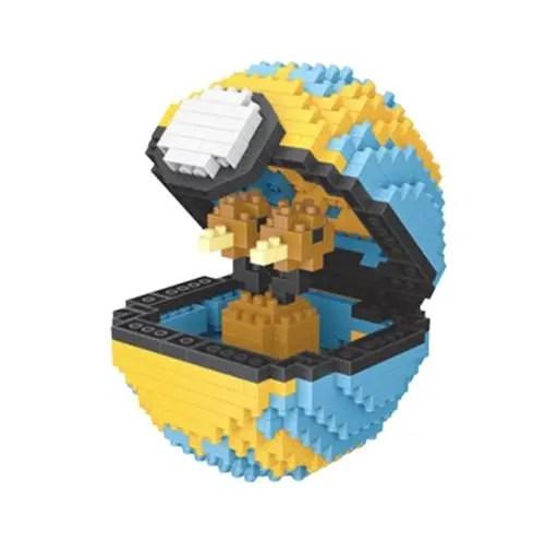 Wise Hawk Pokeball Doduo miniblock - Pokémon - 468 mini blocks
