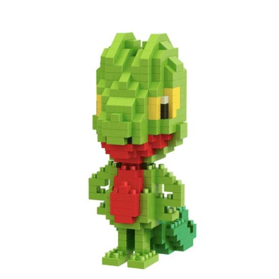 Treecko miniblock - Pokémon - 385 mini blocks