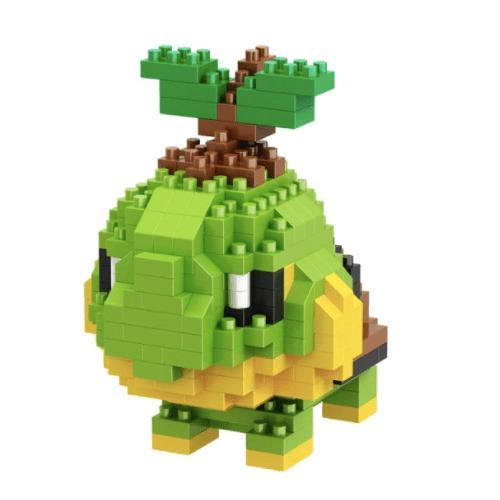 Turtwig miniblock - Pokémon - 312 mini blocks