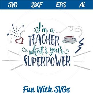 I'm a Teacher Image