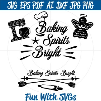 Christmas Baking SVG