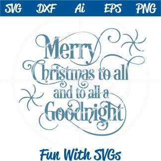 Merry Christmas SVG Image