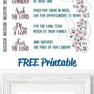 Proverbs 31 free printable
