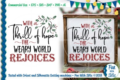 Rejoice Christmas Svg Image