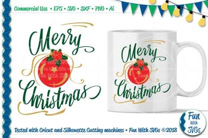 Christmas Ornament SVG Image