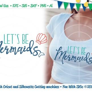 Mermaid SVG Image