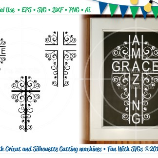 These Christian cross svg's, are for all of my fun Christian crafters! You will receive a variety of fun crosses to work with. We want you to be able to create the project you imagine, so hurry and order today!