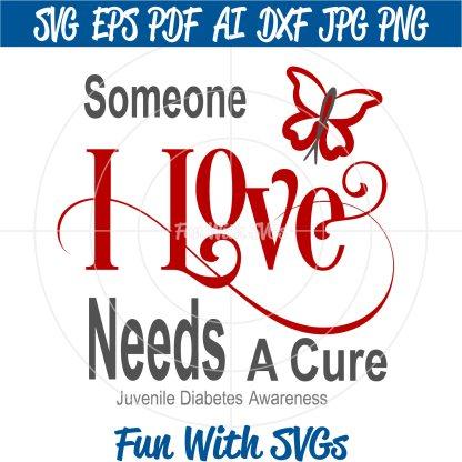 , Someone I love Needs a Cure Image