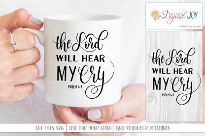 Product Image Digital Joy SVG Image Psalm 4:3
