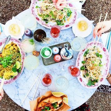Dinner at Elizabeth Street Cafe