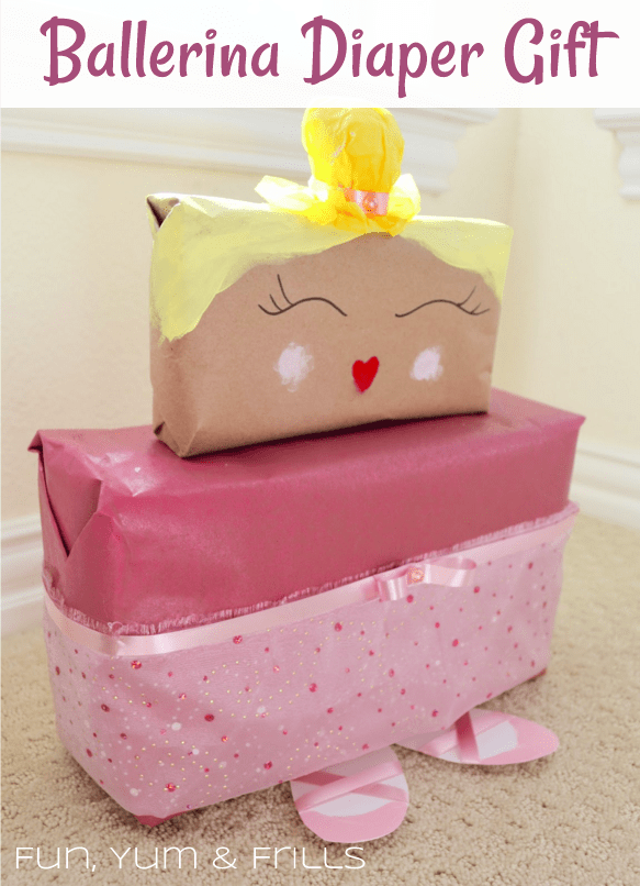 creative diaper shower gift
