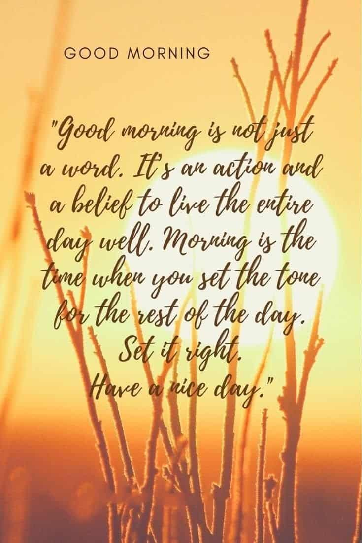 56 Inspirational Good Morning Quotes with Beautiful Images 14