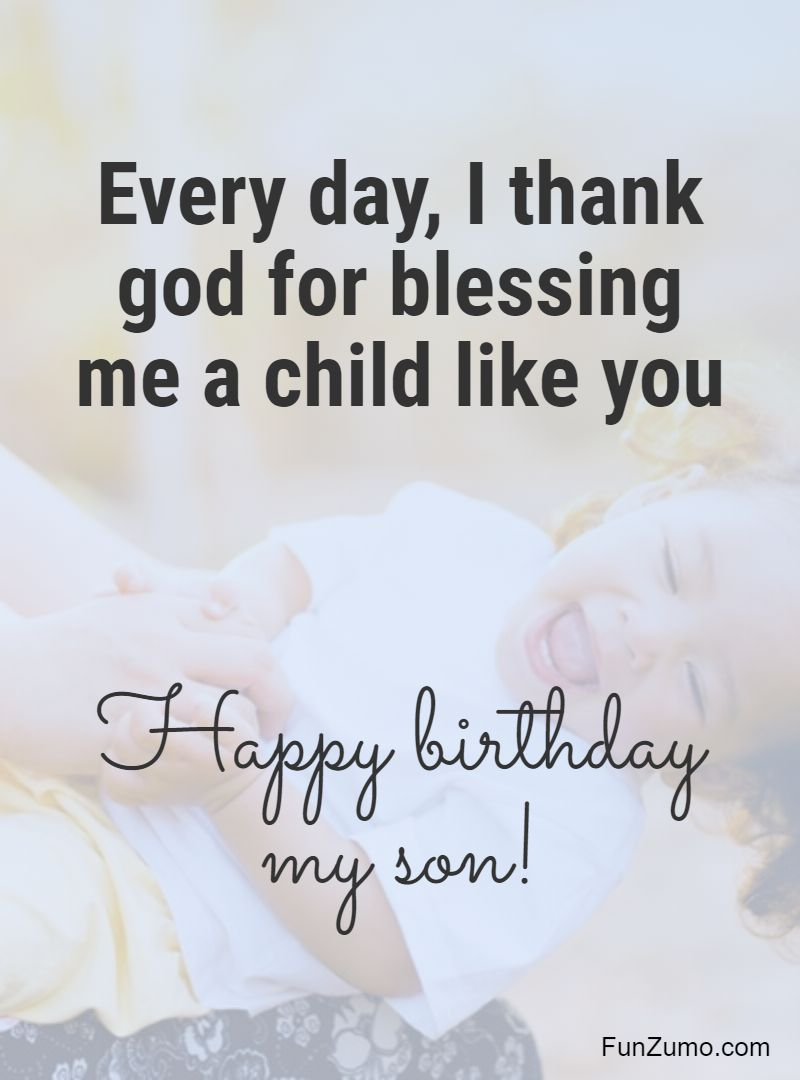 Happy Birthday To My Son Images : happy, birthday, images, Birthday, Wishes, Happy, Quotes, Messages, FunZumo