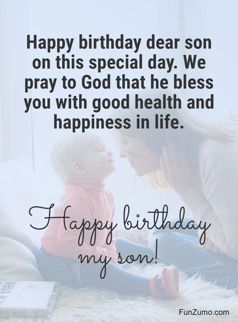 Happy Birthday Images For Son : happy, birthday, images, Birthday, Wishes, Happy, Quotes, Messages, FunZumo
