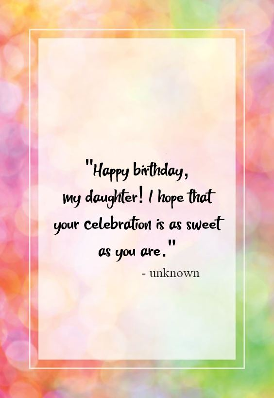 Top 70 Happy Birthday Wishes For Daughter [2021]